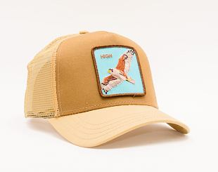 Kšiltovka Goorin Trucker High In The Sky Brown 01-0488