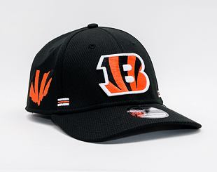 Kšiltovka New Era 39THIRTY NFL20 Sideline Home Cincinnati Bengals Stretch Fit Team Color