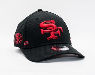 Kšiltovka New Era 39THIRTY NFL20 Sideline Home San Francisco 49ers Stretch Fit Black / Team Color