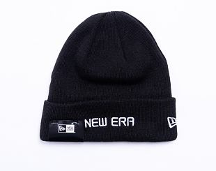 Kulich New Era Essential Cuff Knit Black / Optic White
