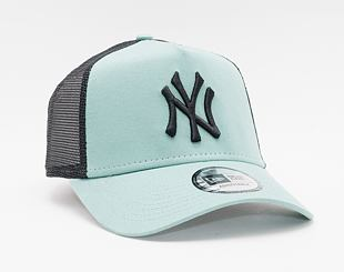Kšiltovka New Era 9FORTY A-Frame Trucker MLB League Essential New York Yankees Snapback SMO / Black