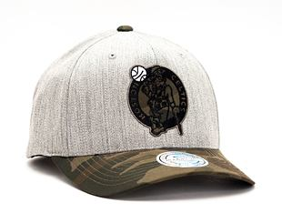 Kšiltovka Mitchell & Ness INTL851 Boston Celtics Heather Camo 110 Snapback