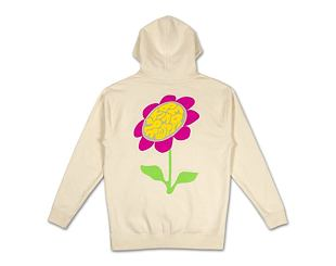 Mikina Pink Dolphin Be Kind Hoodie AF12011BKHTA Tan