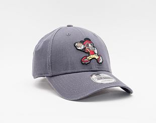 Kšiltovka New Era 9FORTY Character Sports Mickey Mouse Strapback Graphite