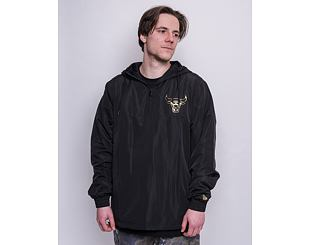 Bunda New Era NBA Metallic Windbreaker Chicago Bulls Black/Gold