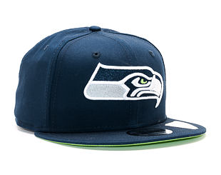 Kšiltovka New Era Team Classic Seattle Seahawks 9FIFTY Official Team Color Snapback