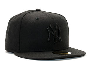 Kšiltovka New Era 59FIFTY Black On Black New York Yankees Fitted Black