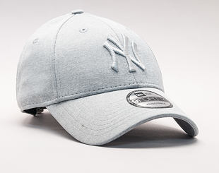 Kšiltovka New Era Jersey Heather New York Yankees 9FORTY Gray Strapback