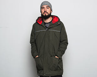 Bunda New Era NTC Parka New York Yankees New Olive