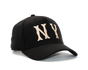 Kšiltovka New Era Club Coop A Frame New York Highlanders 9FORTY Black/Khaki Snapback