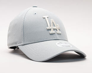 Dámská Kšiltovka New Era Sport Los Angeles Dodgers 9FORTY Gray/Silver Wing Strapback