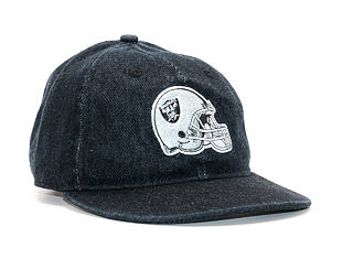 Kšiltovka New Era Team Helmet Oakland Raiders 9FIFTY Black Strapback