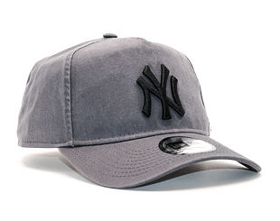Kšiltovka New Era Washed Aframe New York Yankees 9FORTY Grey Heather Snapback