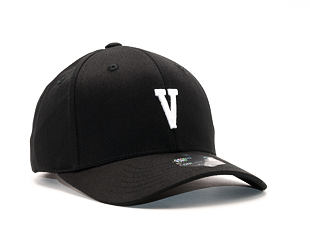 Kšiltovka State of WOW Victor SC9201-990V Baseball Cap Crown 2 Black/White Strapback
