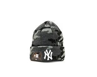 Dětský Kulich New Era Essential Camo Knit New York Yankees Infant Marine Navy Camo/White