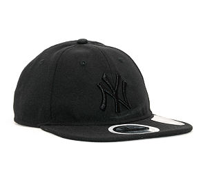 Kšiltovka New Era 9TWENTY New York Yankees Packable Black/Black Strapback