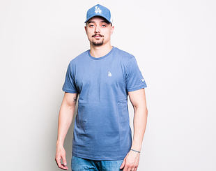 Triko New Era Los Angeles Dodgers Mini Logo Pastel Blue