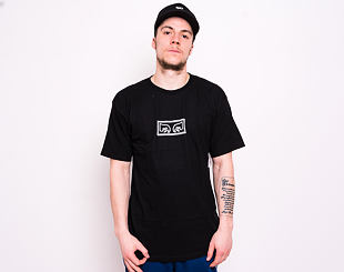 Triko OBEY Jumbled Eyes Tee Black 163081822-BLK