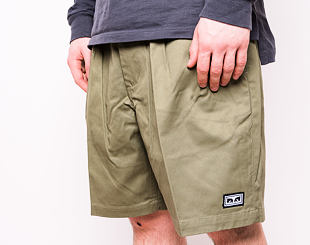 Kraťasy OBEY Fubar Pleated Short Army 172100071-ARM