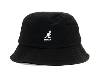 Klobouk Kangol Washed Bucket Black K4224HT-BK001