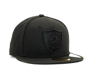 Kšiltovka New Era 59FIFTY Oakland Raiders Tonal Official Team Color