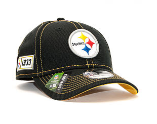 Kšiltovka New Era 39THIRTY Diamond Era NFL Pittsburgh Steelers ONF19 Sideline OTC