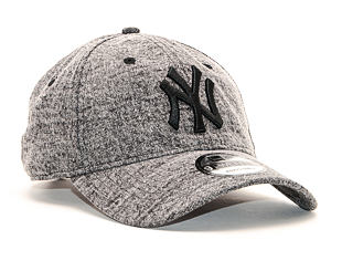 Kšiltovka New Era 9TWENTY Dipped Denim New York Yankees Black / Team Color Strapback