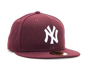 Kšiltovka New Era 59FIFTY The League Essential New York Yankees MAR / Optic White Fitted