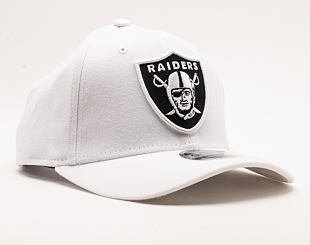 Kšiltovka New Era 9FIFTY White Base Stretch Snap Oakland Raiders White / Team Color Snapback
