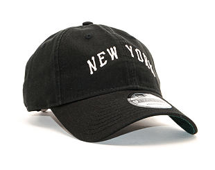 Kšiltovka New Era 9TWENTY Vintage New York Yankees Black / BSK Strapback