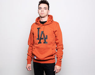 Mikina New Era Seasonal Team Logo Hoody Los Angeles Dodgers Rust