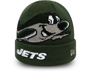 Dětský Kulich New Era New York Jets Infant Mascot Cuff Knit Cilantro Green