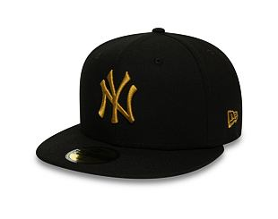 Kšiltovka New Era 59FIFTY New York Yankees League Essential Black/Orange