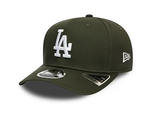 Kšiltovka New Era 9FIFTY Los Angeles Dodgers Stretch Snap Tonal New Olive/White
