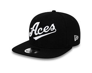 Kšiltovka New Era 9FIFTY Original Fit Reno Aces Vintage Wool Black/White