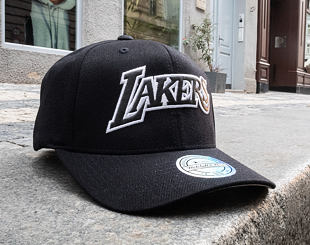 Kšiltovka Mitchell & Ness Los Angeles Lakers Hardwood Classic Outline Black 110