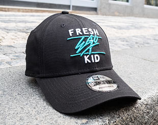 Kšiltovka New Era 9FORTY Core Fresh Ego Kid Black