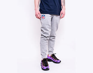 Tepláky New Era NFL Shield Logo Jogger Light Grey Heather