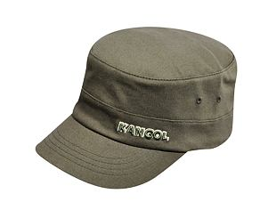 Kšiltovka Kangol 9720BC Cotton Twill Army Cap Green