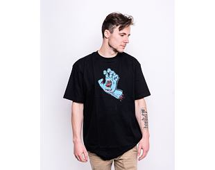 Triko Santa Cruz Screaming Hand Tee Black