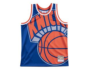 Dres Mitchell & Ness tank top New York Knicks royal Big Face Jersey