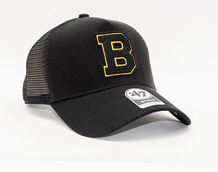 Kšiltovka 47 Brand Boston Bruins Chain Link Mesh MVP DT Trucker Black
