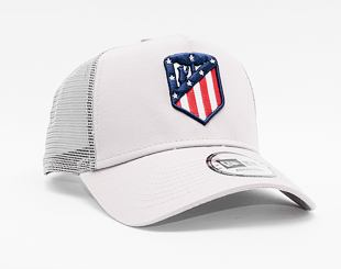 Kšiltovka New Era 9FORTY A-FRAME Trucker Essential Athletico Madrid Gray