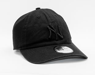 Kšiltovka New Era 9TWENTY MLB Washed Casual Classic New York Yankees Black