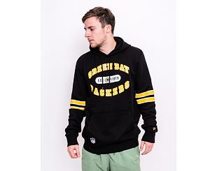 Mikina New Era NFL Wordmark Graphic Hoody Green Bay Packers Black