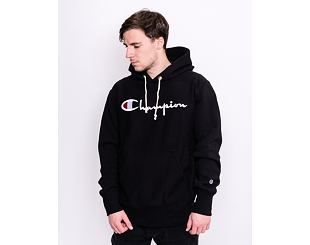 Mikina Champion Hooded Sweatshirt Black 215159 KK001 NBK