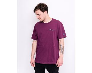 Triko Champion Crewneck T-Shirt Burgundy 214279 VS506