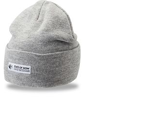 Kulich State of WOW Adler Fold Beanie Light Grey Melange