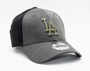 Kšiltovka New Era 9FORTY Multi Pop Panel Los Angeles Dodgers Strapback Black