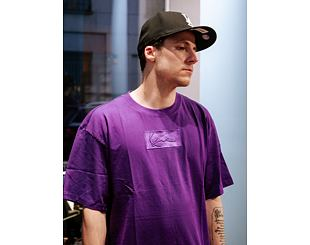 Triko Karl Kani Small Signature Box Tee Purple 6030135